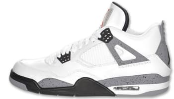 Air Jordan 4 Retro White/Cement Grey