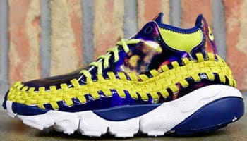 Nike Air Footscape Woven Chukka YOTH QS Light Midnight/Bright Citron