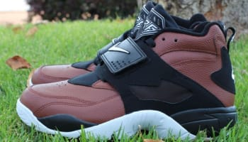 Nike Air Diamond Turf Field Brown/White-Black-Wolf Grey