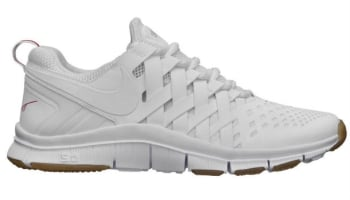 Nike Free Trainer 5.0 White/Gym Red