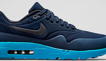 Nike Air Max 1 Ultra Moire Midnight Navy/New Slate-Dark Obsidian-Obsidian