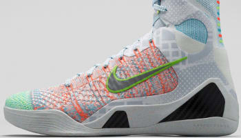 Nike Kobe 9 Elite Premium QS Multi-Color/Reflect Silver-Chlorine Blue