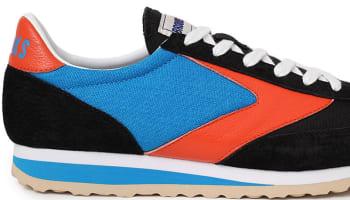 Brooks Vanguard Black/Brilliant Blue-Orangeade