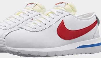 Nike Roshe One Cortez White/Game Royal-Varsity Red