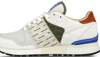 Reebok Classic Leather 6000 White/Moss Green-Blue