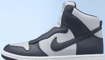 sacai x Women's Nike Dunk Lux High Light Graphite
