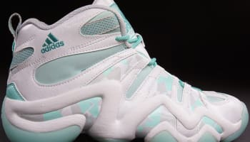 adidas Crazy 8 White/Carbon White-Frost Mint-Cool Grey