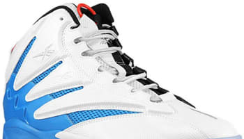 Reebok The Blast White/Black-Blue-Red