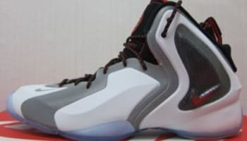 Nike Lil' Penny Posite White/Reflective Silver-Black-Chilling Red