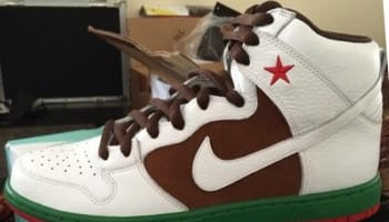 Nike Dunk High Premium SB Pecan/White