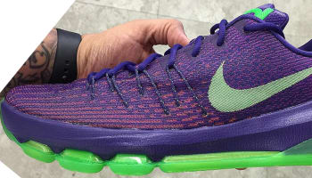 Nike KD 8 Court Purple/Green Strike-Vivid Purple-Bright Crimson