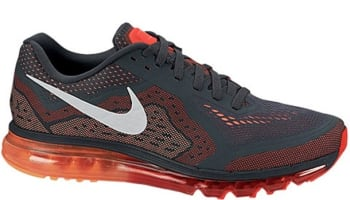 Nike Air Max 2014 Anthracite/Slate-Light Crimson-Atomic Orange