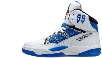 adidas Mutombo Running White/Blue-Black