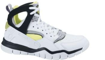 Nike Air Huarache BBall 2012 White/Black-Volt-Wolf Grey