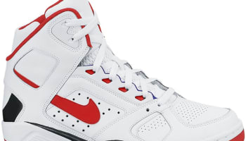 Nike Air Flight Lite High White/Black-University Red