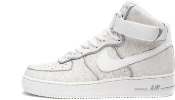 Nike Air Force 1 High Summit White/Summit White-Metallic Silver