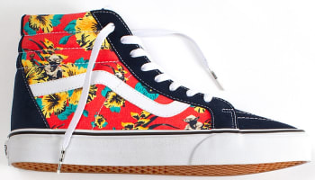 Vans Sk8-Hi Re-Issue Navy/Multi-Color-White
