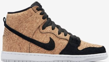 Nike Dunk High Premium SB Black/Hazelnut-White-Black