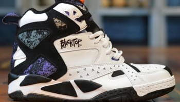 Reebok Blacktop Battleground Pump White/Black-Beacon-Canvas