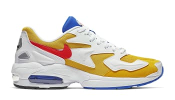 Nike Air Max 2 Light University Gold/Flash Crimson-Racer Blue