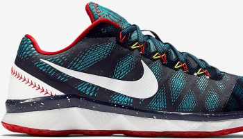 Nike Zoom CJ Trainer 3 Midnight Navy/Radiant Emerald-White