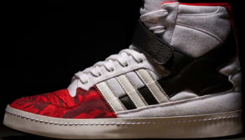 adidas Consortium Forum Hi White/Black-Red