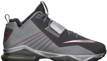 Nike Zoom CJ Trainer 2 Metallic Dark Grey/Metallic Silver-University Red