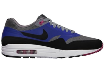 Nike Air Max 1 QS London Cool Grey/Black-Hyper Fuchsia-Old Royal