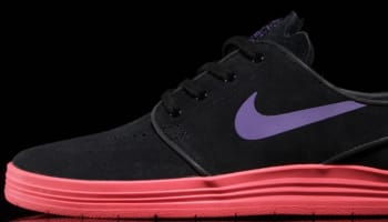 Nike Lunar Stefan Janoski SB Black/Hyper Grape-Hyper Punch