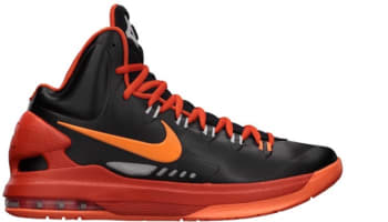 Nike KD 5 Black/Total Orange
