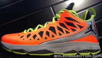 Jordan CP3.VI Total Orange/Black-Stealth-Atomic Green