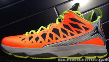 Jordan CP3.VI Total Orange/Black-Stealth-Atomic Green