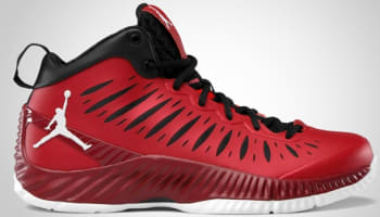 Jordan Super Fly Gym Red/White-Team Red-Black