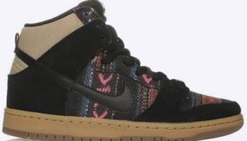 Nike Dunk High Premium SB Multi-Color/Black-Gum Medium Brown