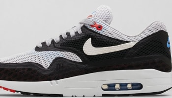 Nike Air Max 1 City Geyser Grey/White-Black-Chilling Red