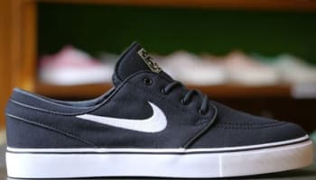 Nike Zoom Stefan Janoski Canvas SB Black/White