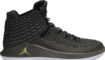Air Jordan 32 Black/Metallic Silver-Multicolor (Black Cat)