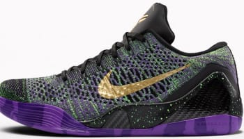 Nike Kobe 9 Elite Low iD Black/Multi-Color
