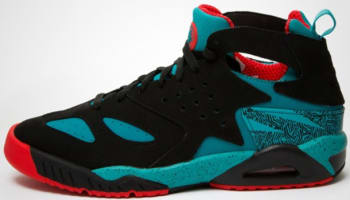 Nike Air Tech Challenge Huarache Black/Turbo Green-Light Crimson