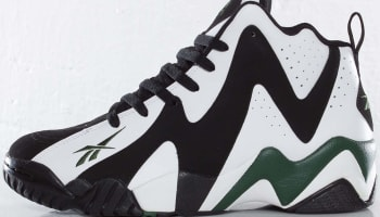 Reebok Kamikaze 2 Mid OG Black/White-Racing Green