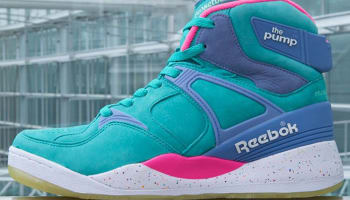 Reebok The Pump Certified Timeless Teal/Electric Pink