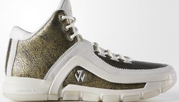 adidas J Wall 2 Core Black/Gold Metallic-Off White