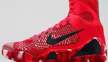 Nike Kobe 9 Elite Bright Crimson/Black-White