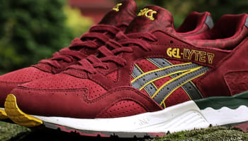Asics Gel-Lyte V Dark Red/Yellow
