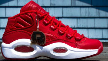 Reebok Question Mid Canvas Red