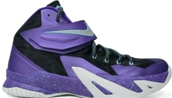 Nike Zoom Soldier VIII Cave Purple/Metallic Silver-Hyper Grape-Hyper Turquoise