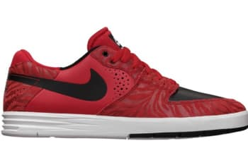 Nike Paul Rodriguez 7 Premium SB University Red/Black-White