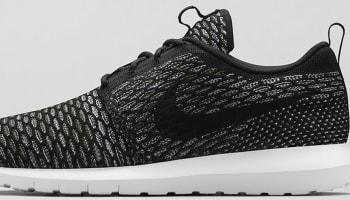 Nike Roshe Run Flyknit Black/Sequoia-Light Armory Blue-Black