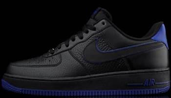 Nike Air Force 1 Low Black/Black-Old Royal