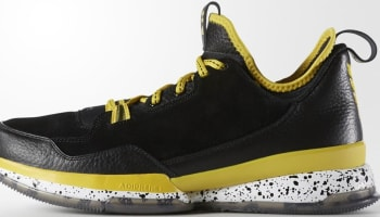 adidas D Lillard 1 Black/Yellow-White